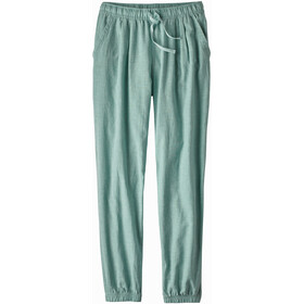 Patagonia Island Hemp Beach Pants Dam cross weave/atoll blue